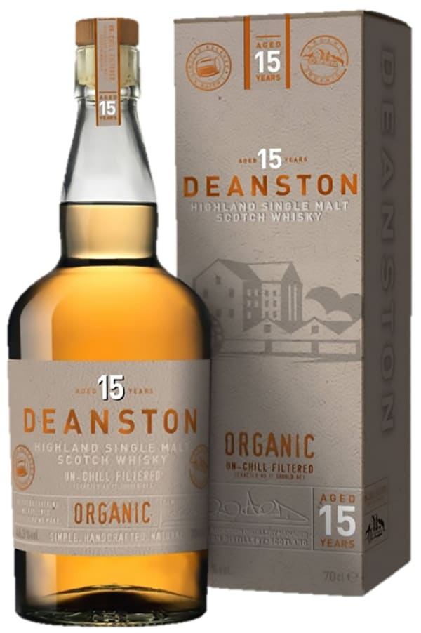 Deanston 15 Year Old Organic Single Malt