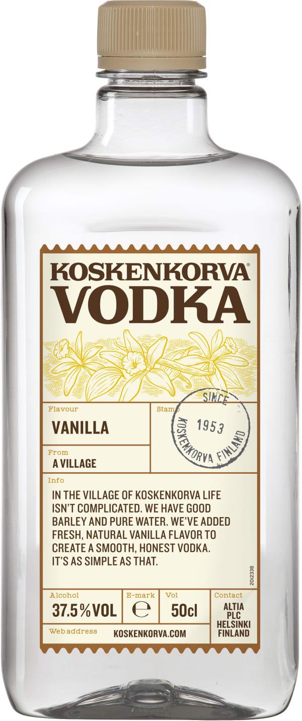 Koskenkorva Vodka Vanilla  plastic bottle