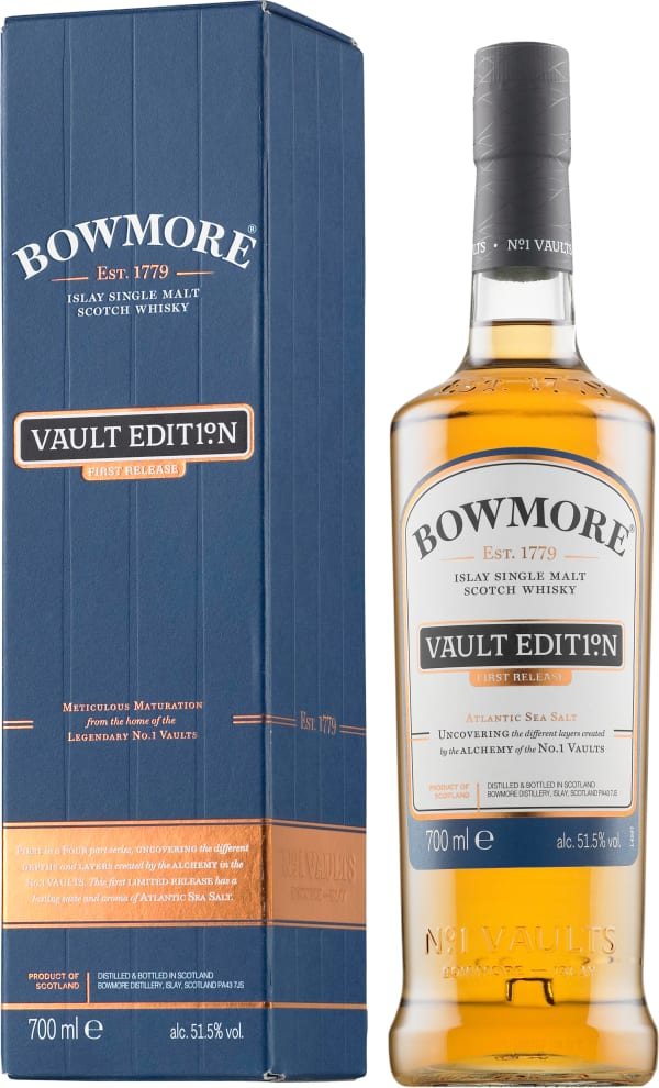 Bowmore Vault Edition First Release Single Malt