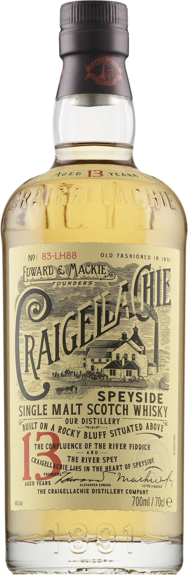 Craigellachie 13 Year Old Single Malt
