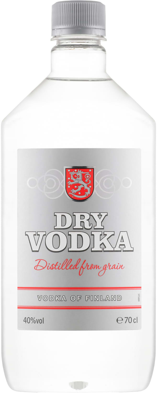 Dry Vodka  plastic bottle