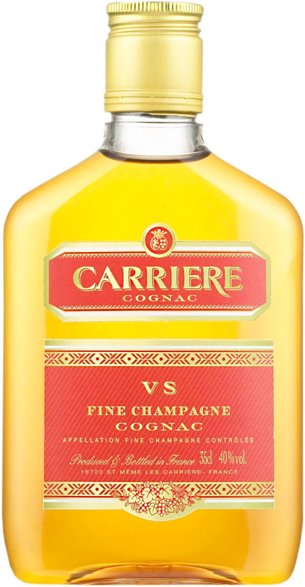 Carrière VS  muovipullo