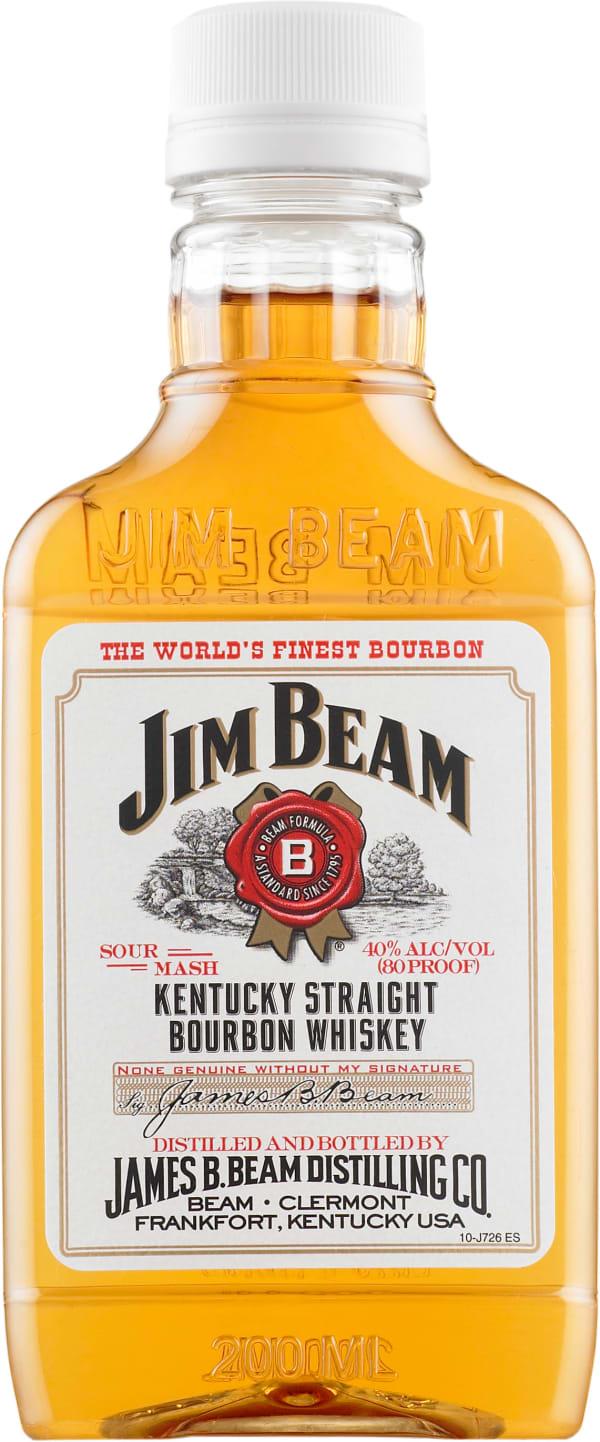Jim Beam  plastic bottle