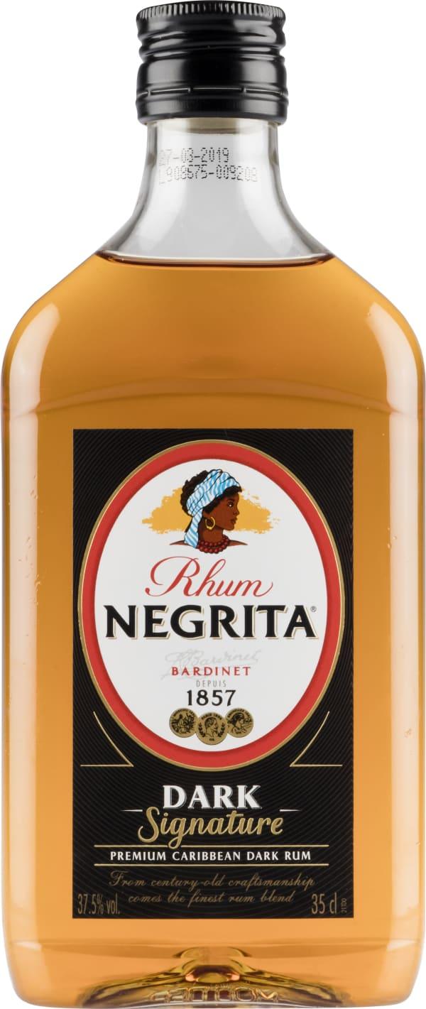 Rhum Negrita Dark Signature plastic bottle