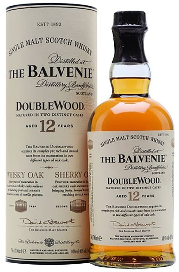 The Balvenie DoubleWood 12 Year Old Single Malt