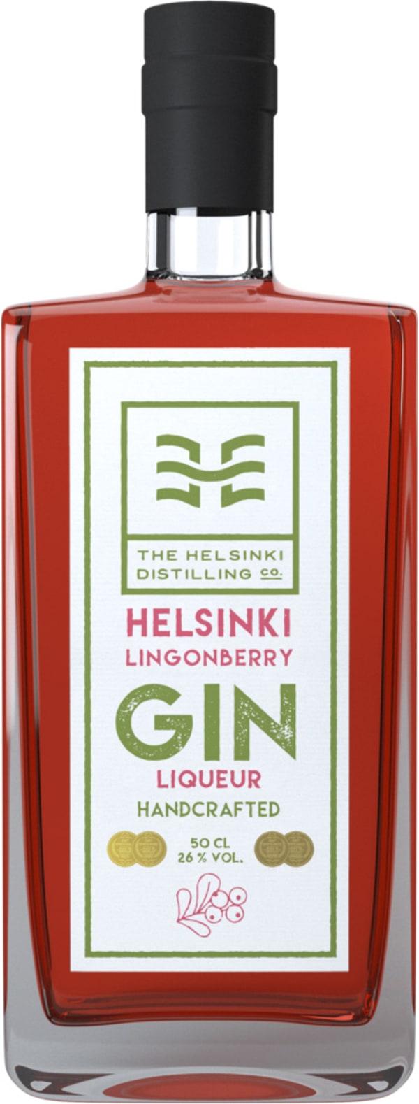 The Helsinki Distilling Puolukka-Gin