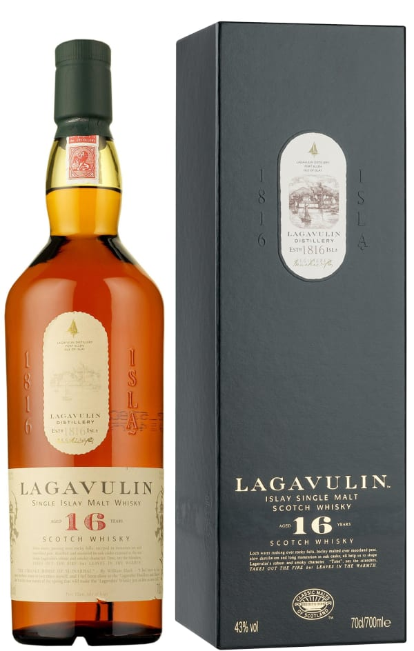 Lagavulin 16 Year Old Single Malt