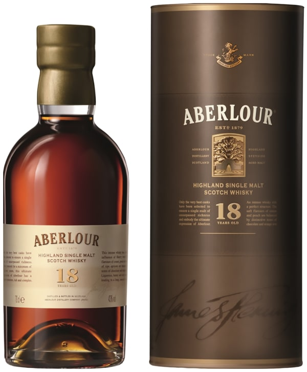 Aberlour 18 Year Old Single Malt