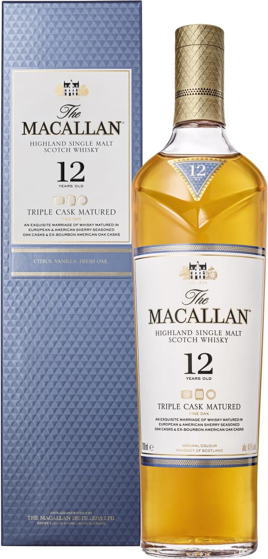 The Macallan Fine Oak 12 Year Old Single Malt
