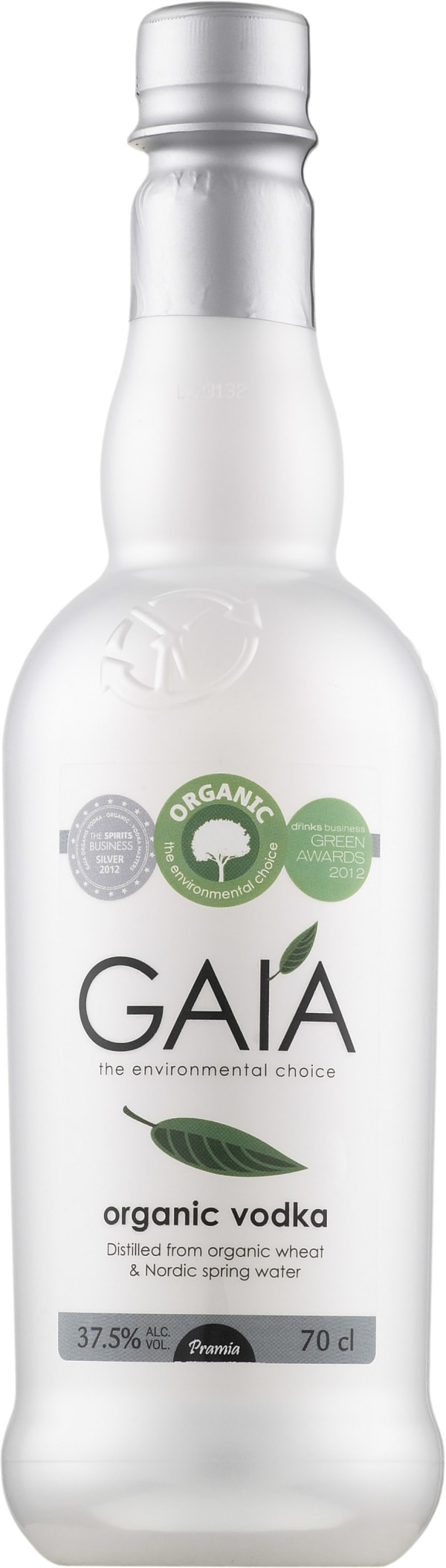 Gaía Organic Vodka  plastflaska