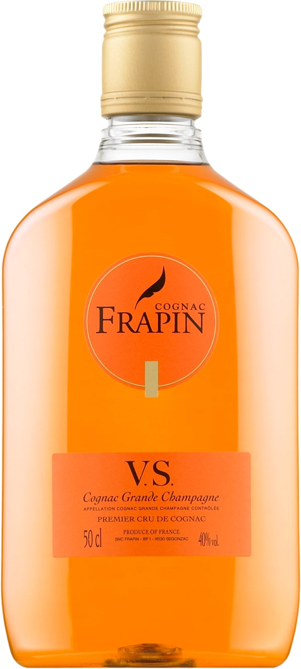 Frapin VS  plastic bottle