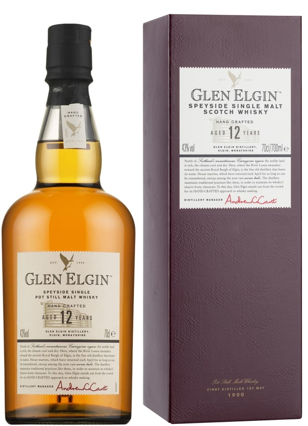 Glen Elgin 12 Year Old Single Malt
