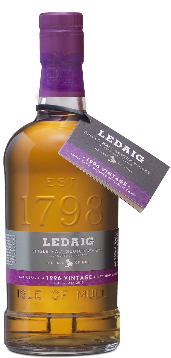 Ledaig 1996 Vintage Single Malt