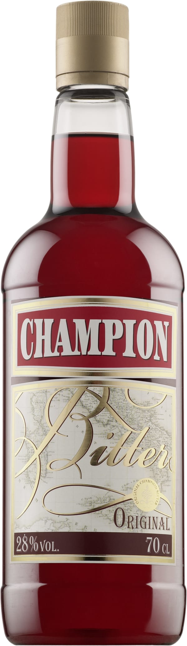 Champion  plastic bottle