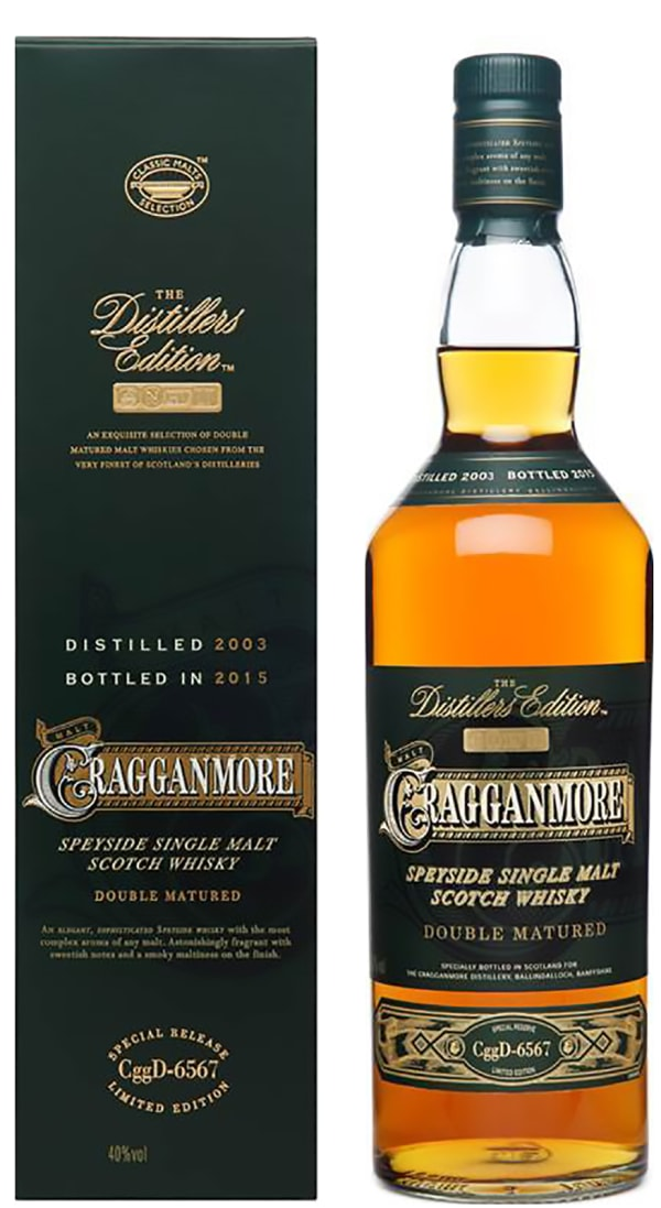 Cragganmore Distillers Edition 2015 Single Malt 2015