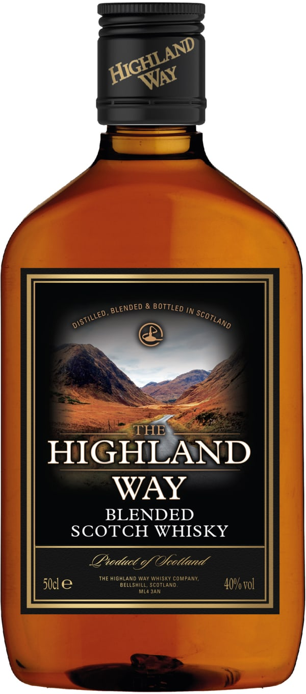 The Highland Way plastflaska