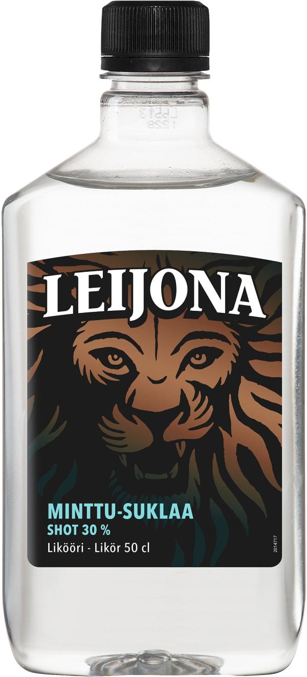 Leijona Minttu-Suklaa Shot  muovipullo