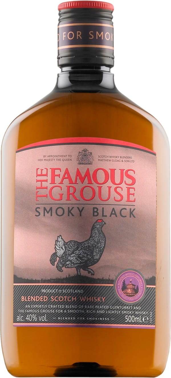 The Famous Grouse Smoky Black plastic bottle