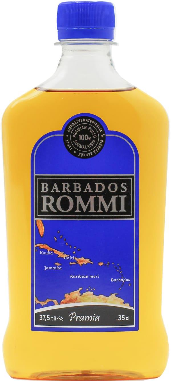 Barbados Rommi  plastic bottle