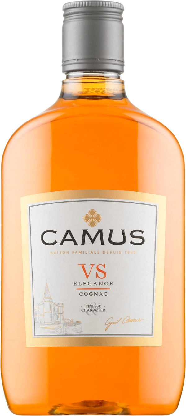 Camus VS Elegance plastic bottle