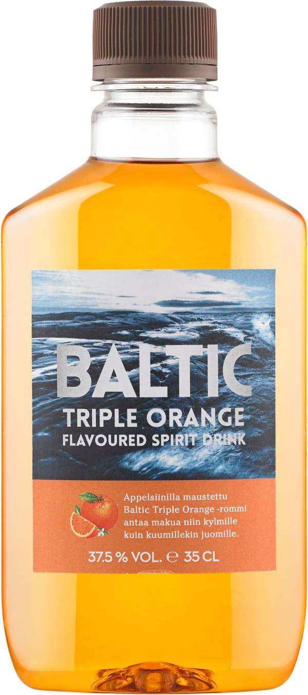 Baltic Triple Orange plastic bottle