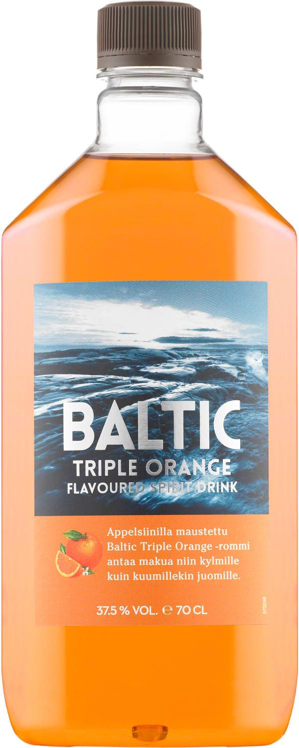 Baltic Triple Orange plastflaska