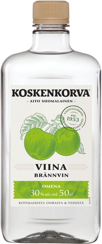 Koskenkorva Viina Omena  plastic bottle
