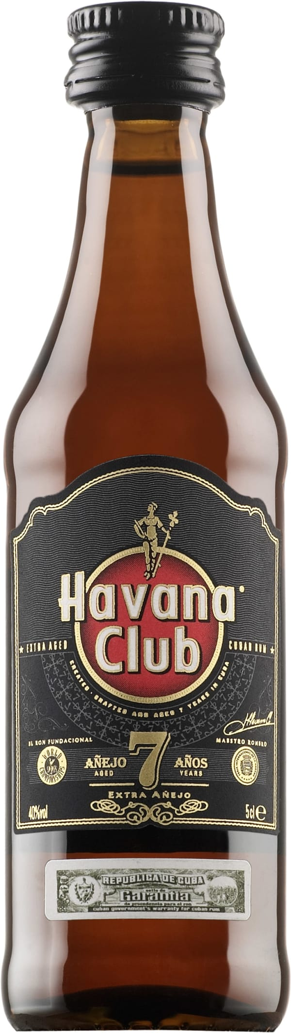 Havana Club Añejo 7 Años  plastic bottle
