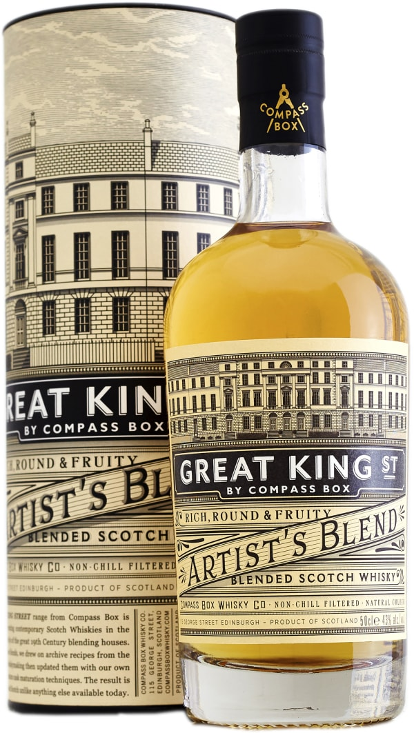 Compass Box Great King St Artist's Blend