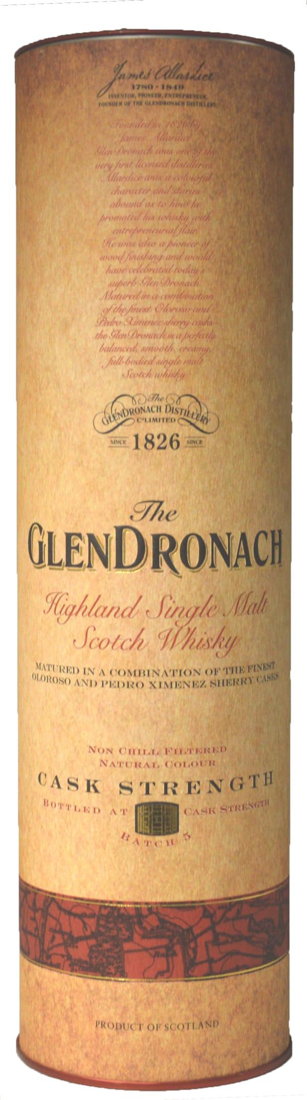 The GlenDronach Cask Strength Batch 5 Single Malt