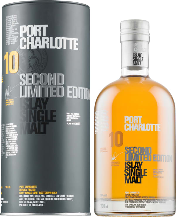 Bruichladdich Port Charlotte 10 Year Old Single Malt
