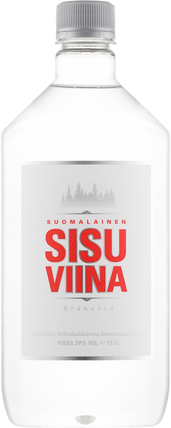 Sisuviina plastic bottle