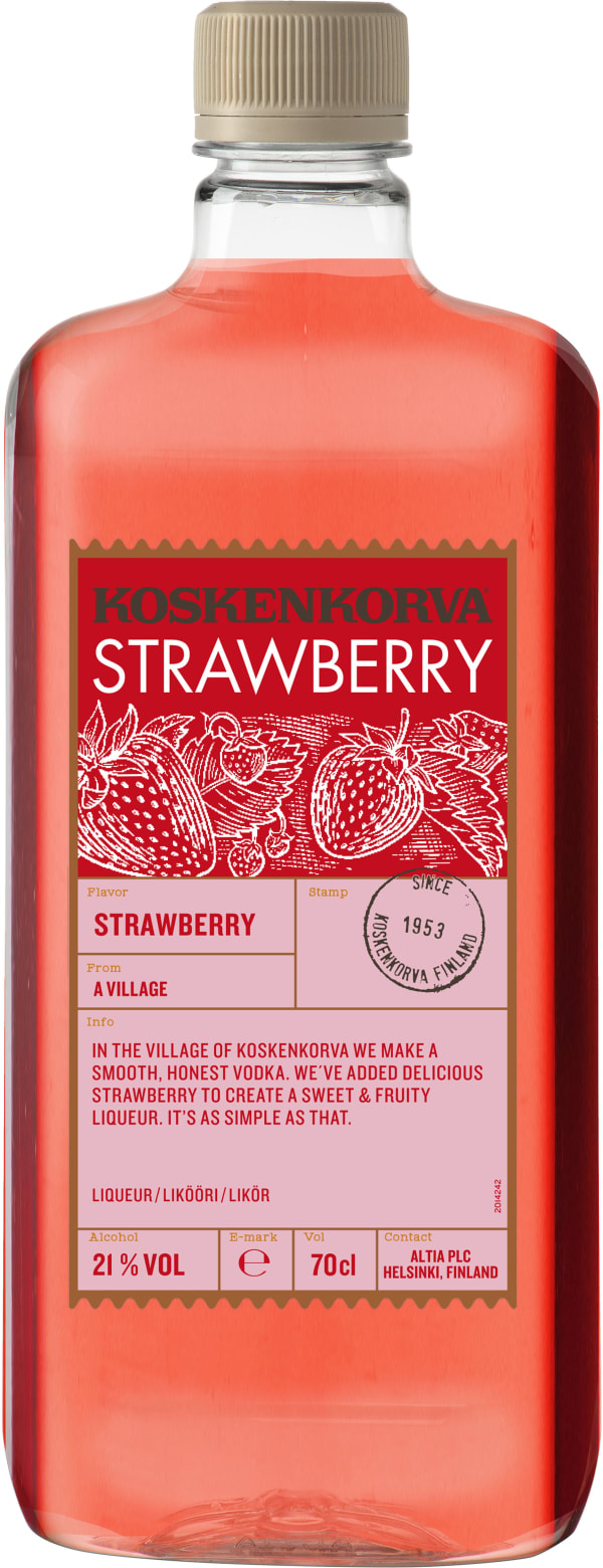 Koskenkorva The Original Strawberry  plastflaska