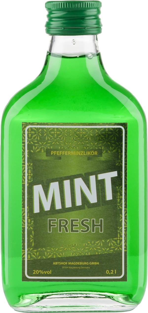 Mint Fresh Pfefferminzlikör