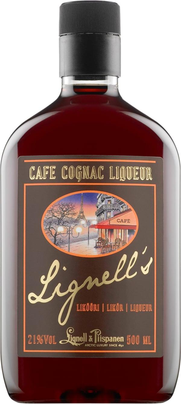 Lignell's Cafe Cognac Liqueur  plastic bottle