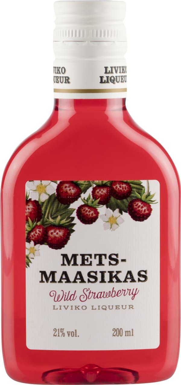 Liviko Metsmaasikas Wild Strawberry  plastflaska