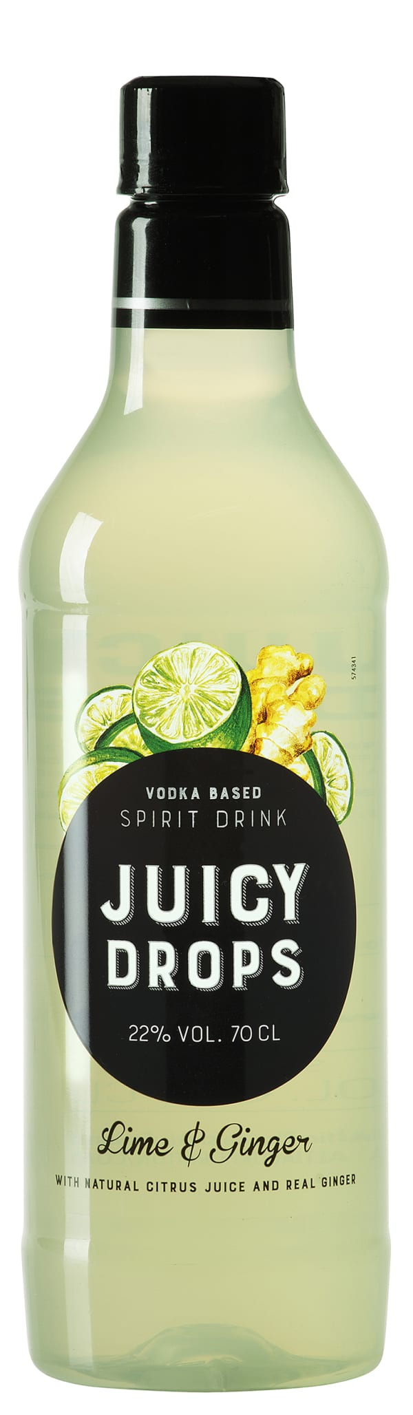Juicy Drops Lime Ginger  muovipullo