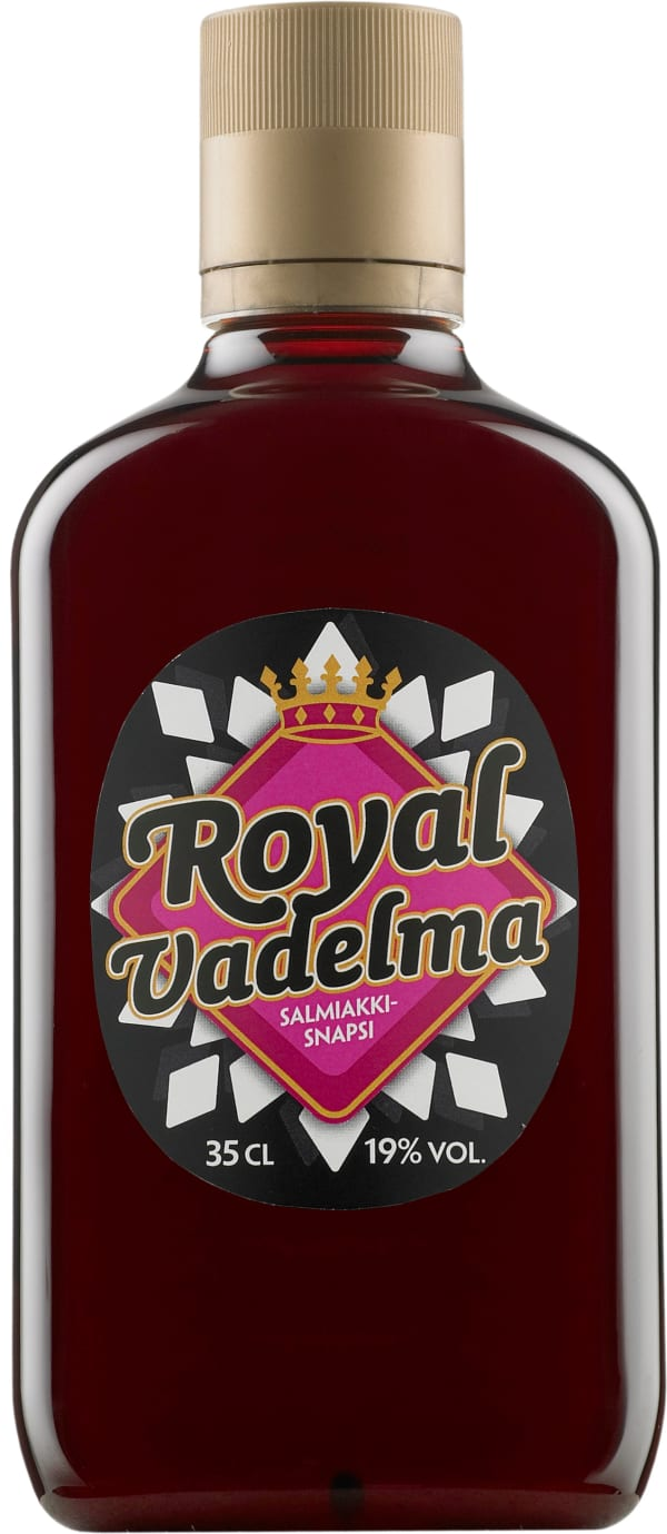 Royal Vadelma Salmiakkisnapsi plastic bottle