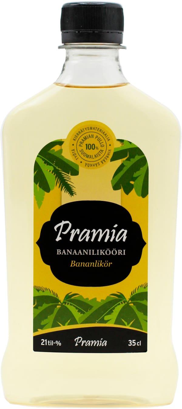 Pramia Banaanilikööri plastic bottle