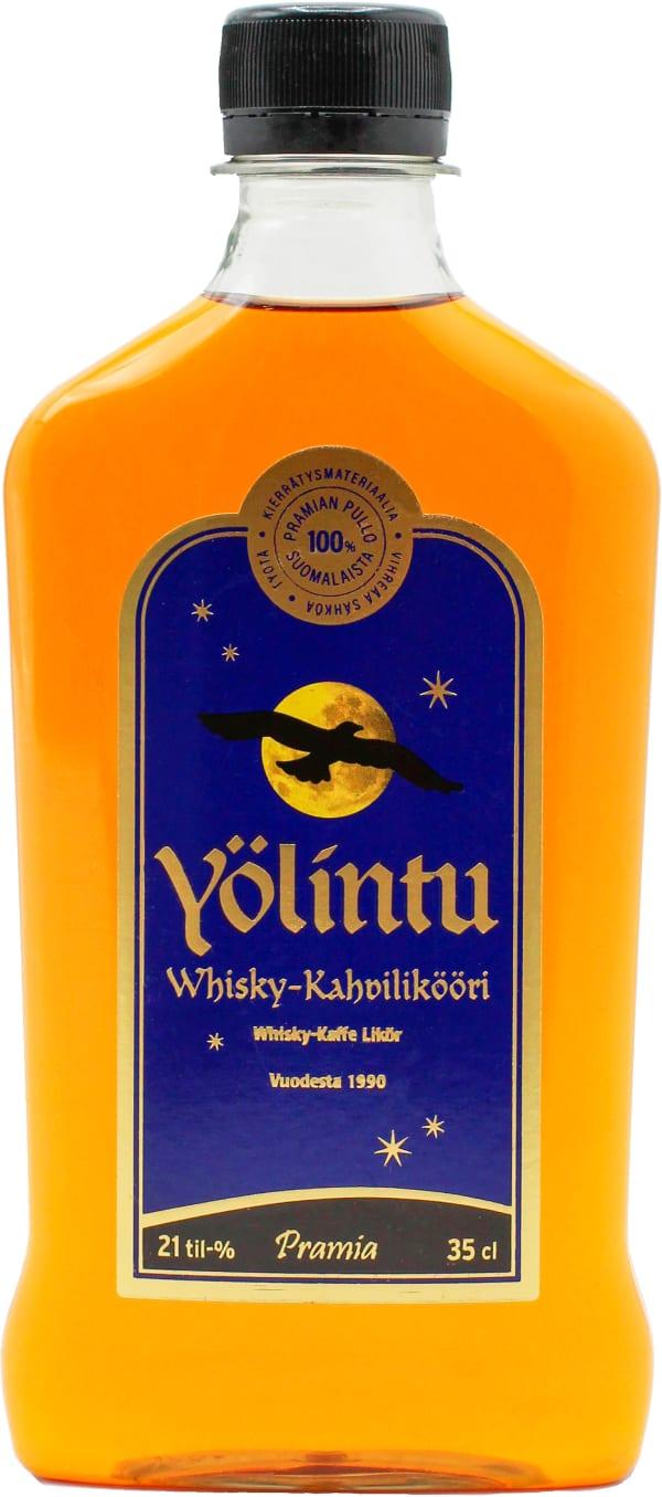Pramia Yölintu Whisky-Kahvilikööri plastflaska