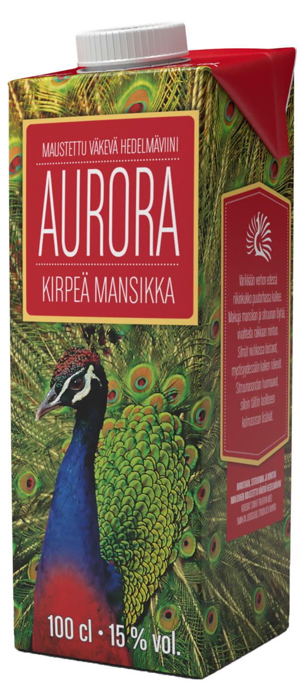 Aurora Kirpeä Mansikka  kartongförpackning