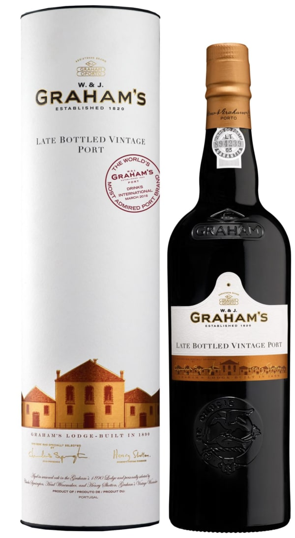 Graham's Late Bottled Vintage Port 2012 lahjapakkaus