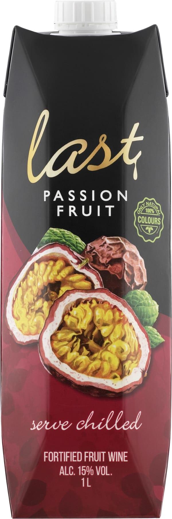 Last Passionfruit kartongförpackning