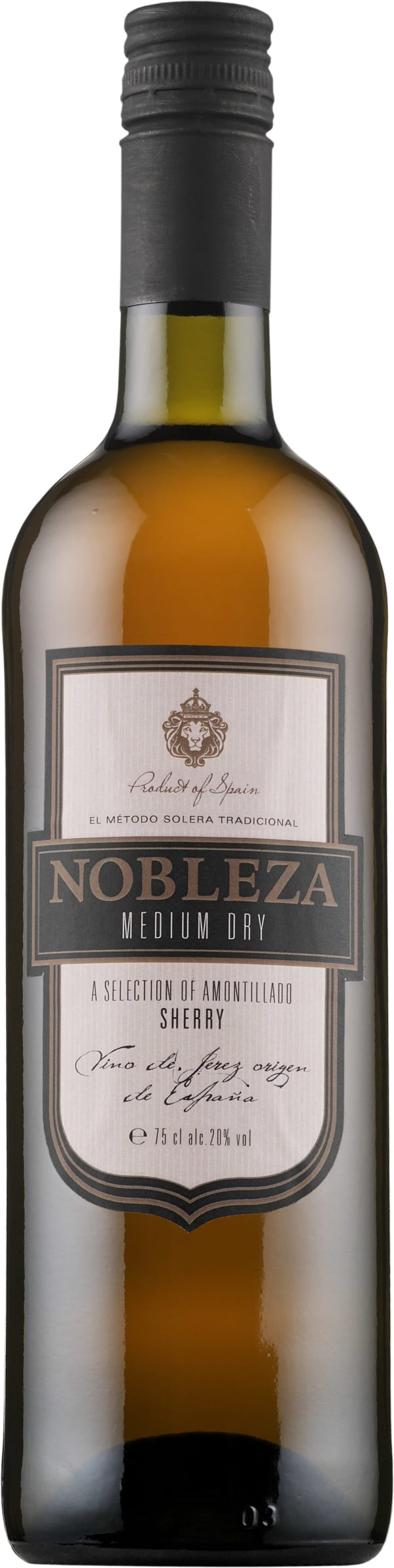 Nobleza Medium Dry Sherry