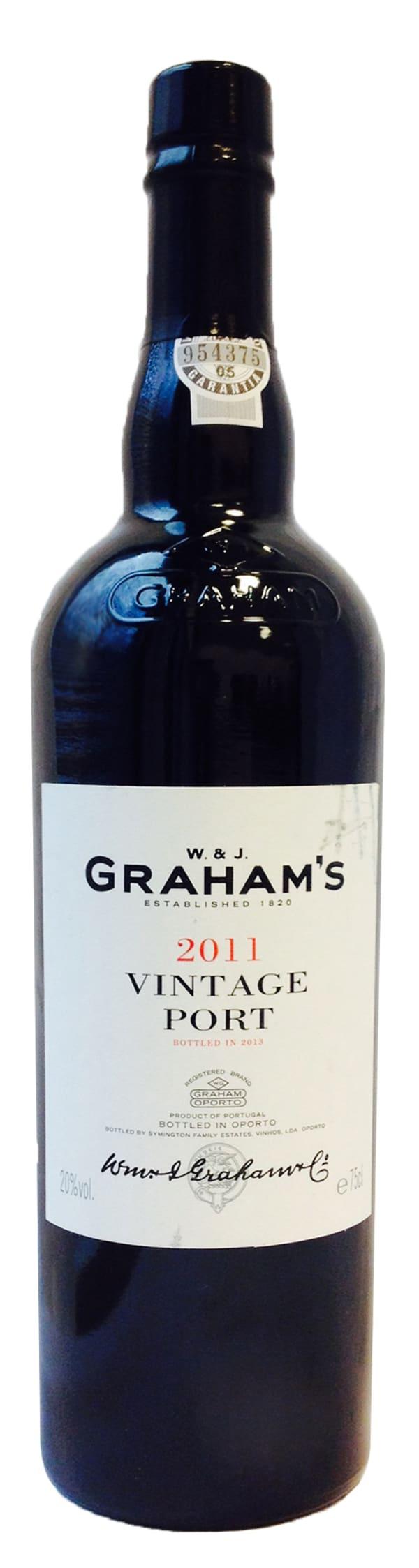 Graham's Vintage Port 2011