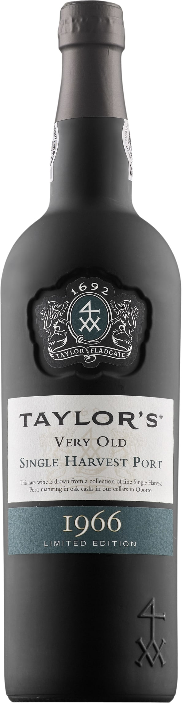 Taylor's Very Old Single Harvest Port 1966