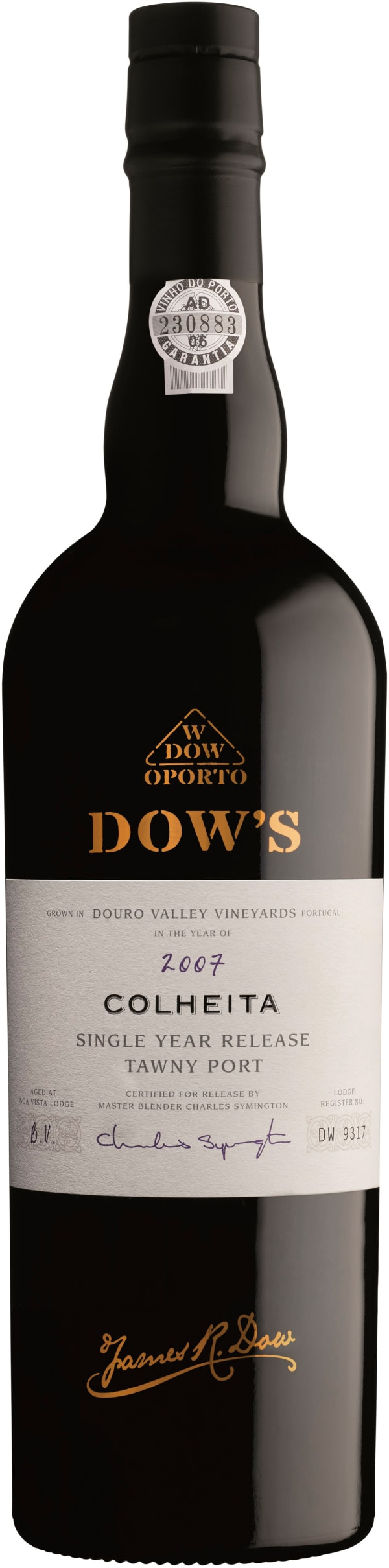 Dow's Colheita Single Harvest Tawny Port 2002