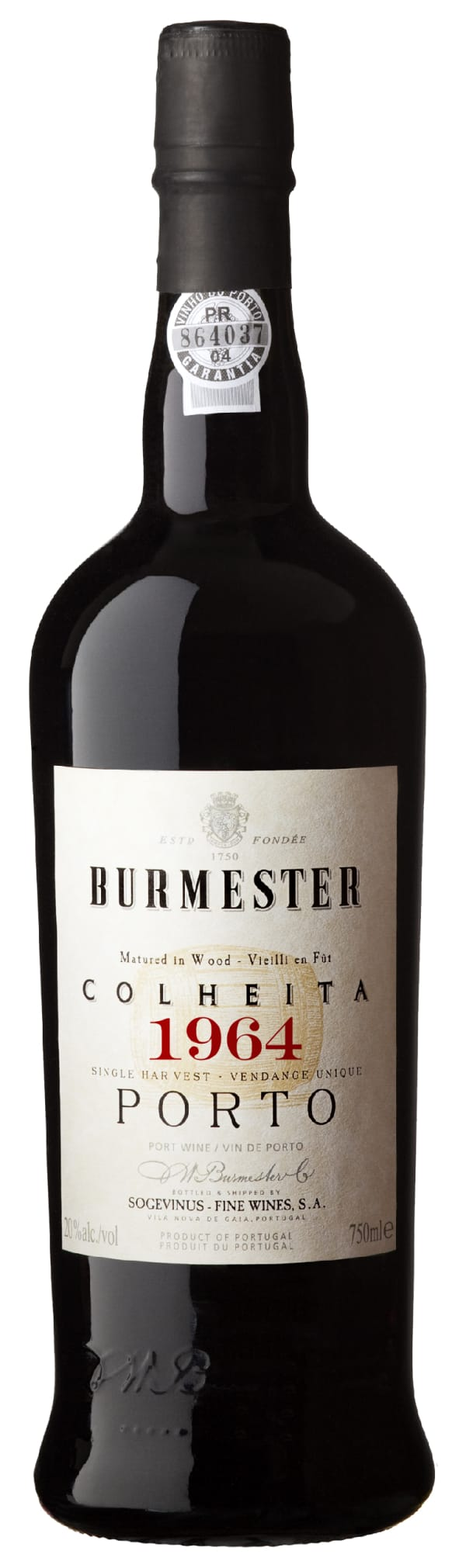 Burmester Colheita 1964