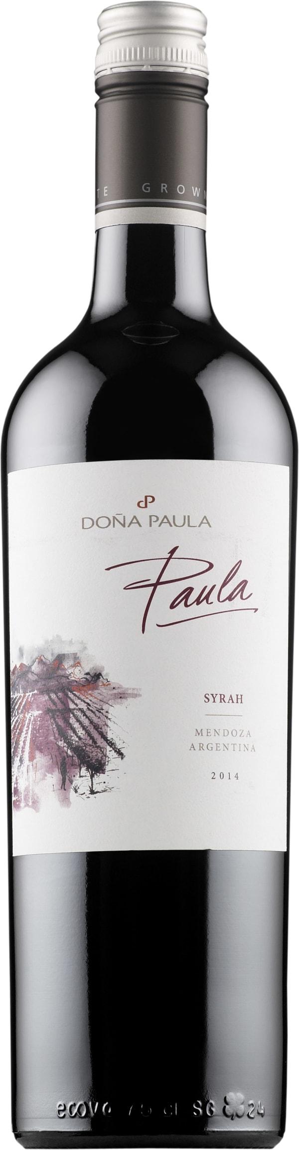 Doña Paula Syrah 2015