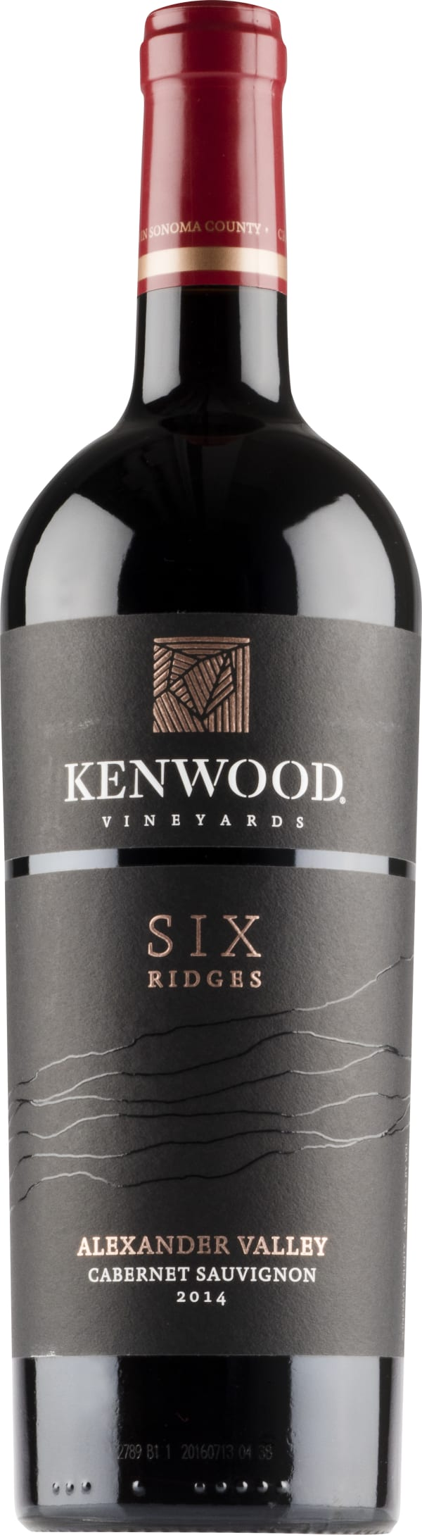 Kenwood Six Ridges Cabernet Sauvignon 2014